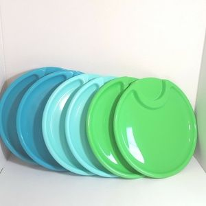 Pampered Chef Outdoor Dinnerware Plates Set of 6